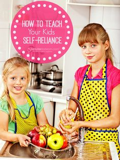 """How to Teach Your Kids Self-Reliance -   Can I admit that I'm not the greatest at teaching my kids to be independent and self-reliant? I too often just do tasks myself because it's easier.  In this post (which is sponsored), Jennifer shares a look into """"The M.O.M. Method"""" which is a web-based parenting tool to help combat """"helicopter parenting"""" by teaching kids (ages six to 12) the time and task management skills."""