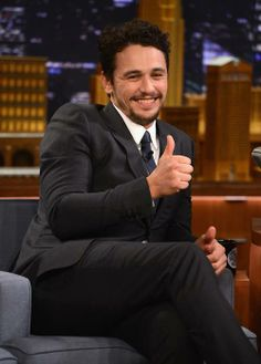 """James Franco Photos - James Franco visits """"The Tonight Show Starring Jimmy Fallon"""" at Rockefeller Center on March 2014 in New York City. - James Franco Visits """"The Tonight Show Starring Jimmy Fallon"""" James And Dave Franco, James 3, Max Irons, Terry Richardson, Derek Hale, Tonight Show, Jimmy Fallon, Cillian Murphy, Michael Fassbender"""