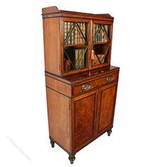 Georgian Mahogany Dwarf Cabinet Bookcase - Antiques Atlas Georgian Furniture, Antique Furniture, Mahogany Bookcase, Antique Cabinets, Cupboard Doors, Brass Handles, Dwarf, Adjustable Shelving, 19th Century