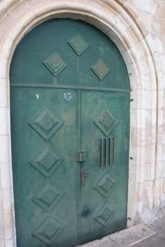 An old door somewhere in the Armenian quarter of Jerusalem.