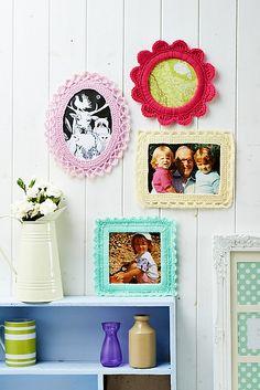 Ravelry: Fancy frames pattern by Christine Harvey