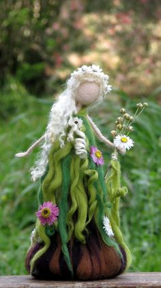 Waldorf inspired Spring fairy Art doll by on Etsy Spring Fairy, Felt Fairy, Flower Fairies, Waldorf Dolls, Fairy Art, Fairy Dolls, Felt Toys, Felt Crafts, Needle Felting