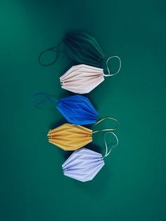 Tassel Necklace, Almond, Drop Earrings, Christmas, Origami, Color, Products, Xmas, Colour