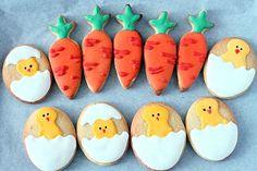 cute easter sugar cookies (royal icing)