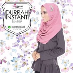 Durrah Instant Shawl by NengGuelis Hijab on Carousell