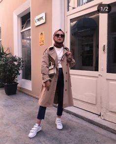 Source by missalhelfi outfits hijab Modern Hijab Fashion, Street Hijab Fashion, Hijab Fashion Inspiration, Muslim Fashion, Modest Fashion, Fashion Outfits, Casual Hijab Outfit, Hijab Chic, Casual Outfits
