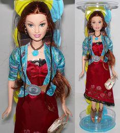 2004 Barbie Fashion Fever Drew Doll H0665 Gorgeous in Red Dress Mini Jacket   eBay