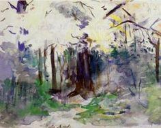 Autumn in the Bois de Boulogne - Berthe Morisot