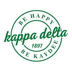 Kappa Delta Crafts, Kappa Delta Shirts, Kappa Delta Sorority, Fraternity Shirts, Sorority Crafts, Sorority And Fraternity, Sorority Shirts, Greek House, Greek Life
