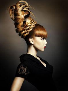 hairstyle awards chignon