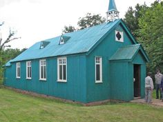 about the history of the tin tabernacle at hall green Tin Shed, Church Building, Place Of Worship, Farm House, Small Spaces, Buildings, Iron, Houses, Outdoor Structures