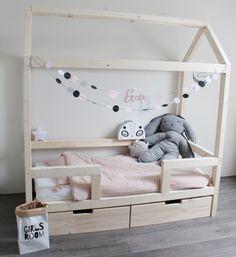 Little dreamers Bedhuisje Finn van Little Dreamers 140 x - Klein en Stoer Baby Bedroom, Dream Bedroom, Girls Bedroom, Montessori Bedroom, Montessori Baby, Princess Bedrooms, House Beds, Big Girl Rooms, Crib Bedding