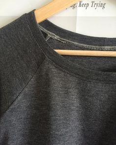 Eine schöne Zwillingnaht lohnt sich immer #lindensweatshirt #grainlinestudio…