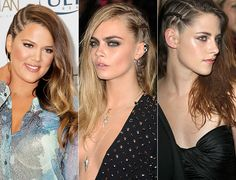 This is an old style. I used to do this to my hair years ago....2013's Signature Side-Swept Style Becomes Badass