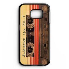 Vintage Awesome Mixtape Samsung Galaxy S6 Edge Plus Case