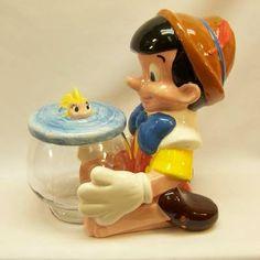 PINOCCHIO and CLEO cookie jar