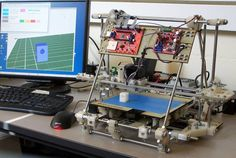 printer design printer projects printer diy Printing Printing RepRap :the original open-source, DIY printer. Build A 3d Printer, 3d Printer Kit, Best 3d Printer, Impression 3d, Cultura Maker, Open Source Hardware, 3d Printing Business, Diy 3d, Prusa I3