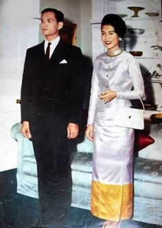 King Bhumibol and Queen Sirikit