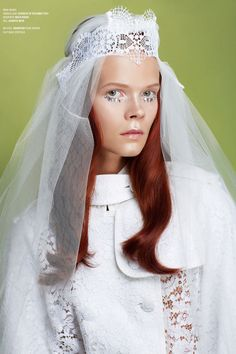 Exclusive! Bridal Goes Badass Barbie In V Magazine's Latest Spread #refinery29