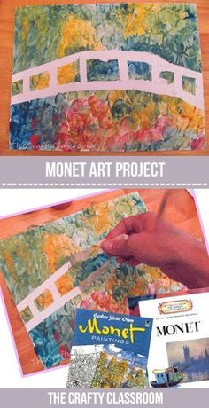 Famous Artist Projects for Kids: Monet, Kandinsky, Van Gogh, Warhol, Mondrian, Seurat, and more