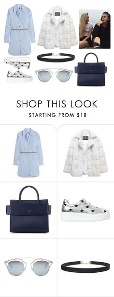 """Day with neels visser and Alissa violet"" by arianas12 ❤ liked on Polyvore featuring Topshop Unique, Lilly e Violetta, Givenchy, Kenzo, Christian Dior and Humble Chic"