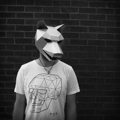 NEED A FANCY DRESS COSTUME? Make your own WOLF MASK from recycled card with these easy to follow instructions.  I have designed this set of templates and instructions so that you can create your own fearsome 3D Low-Poly Wolf Mask. The masks are designed to be easy to build so you dont need to be some sort of arts and crafts wizard and the finished masks are robust so should survive the wildest of parties. They are ideal for wearing to festivals, parties and even weddings! Not sure if you…