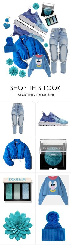 """""""☔️"""" by jessbbz ❤ liked on Polyvore featuring NIKE, 3.1 Phillip Lim, Laura Mercier, Bobbi Brown Cosmetics, Lazy Oaf and Acne Studios"""