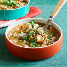 Homemade Sausage and Lentil Soup #30MinuteMeals