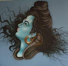 Hanuman Ji Wallpapers, Pooja Room Design, Lord Murugan, Lord Shiva Painting, Om Namah Shivaya, Pooja Rooms, Mural Wall Art, Love And Light, Awesome
