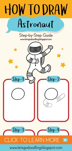 How to Draw a Astronaut (Easy Step by Step Drawing Tutorials) #youtubechannel #youtubekids #drawingtutorials #diycrafts #diy #astronaut #rocket #spaceship #galaxy #youtubediy