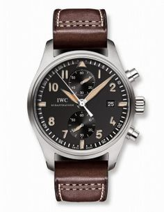 """IWC Pilot's Watch Chronograph """"Collectors' Watch"""" Edition"""