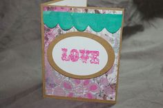 On Etsy at Chique Handmade Cards.
