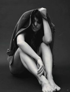 'A Little I' Charlotte Gainsbourg by Stefan Heinrichs for Vogue Germany August 2014 1