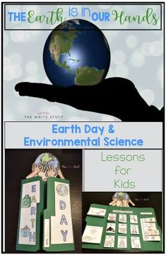 This Earth Day lap book will help your students understand why protecting the earth is important. #earthdayactivities