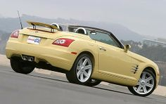 2005 Chrysler Crossfire Limited 2dr Roadster - Gatsby Yellow <3