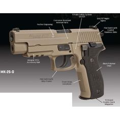 The new Sig P226-MK25-D....very nice