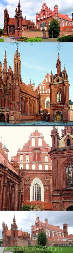 Lithuania. Anne and Bernadine Church.