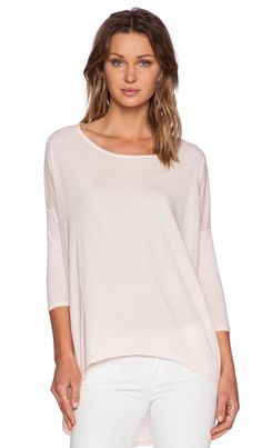 ff5923d056fc Bobi Light Weight Jersey 3/4 Sleeve Tee in Prarie Girl Poncho Sweater,  Knitted