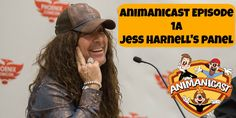 Animanicast #1a: Jess Harnell at Panel Phoenix Comicon Part 1 Jess Harnell, Phoenix Comicon, For Stars, Pop Culture, Fans, Star Wars, Starwars, Star Wars Art