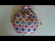 HOW TO MAKE POTLI BATVA AT HOME - YouTube Fabric Gifts, Fabric Bags, Bag Patterns To Sew, Sewing Patterns, Crochet Socks Tutorial, Drawing Bag, Potli Bags, Diy Purse, Sewing Hacks