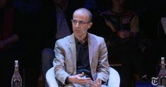 """In a complex, interconnected world, morality needs to be redefined. """"To act well, it's not enough to have good values, You have to understand the chains of causes and effects.""""  And time is accelerating.   A few ideas from Harari on how society will evolve over the next 20 years, and what the risks are."""