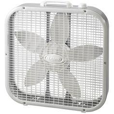Lasko Indoor Box Fan at Lowe's. The Lasko 20 in. box fan combines the cooling power of 3 fan speeds and a 20 in. fan diameter, all in a compact, lightweight, energy-efficient Floor Fans, Fan Blades, D 20, Smart Design, Easy Home Decor, Energy Efficiency, Cool Stuff, Stuff To Buy, Home Improvement