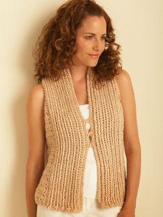 Crochet Vest | Yarn | Free Knitting Patterns | Crochet Patterns | Yarnspirations
