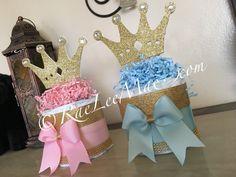 Princess or Prince diaper cake/Prince Baby by RaeLeeMaeCreations