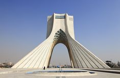 Azadi Tower / Hossein Amanat, Iran - Tehran