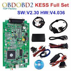 HW V4.036 KESS V2 V2.30 OBD2 Manager Tuning Kit Master Version KESS V2 No Tokens Limited ECU Chip Tuning Tool ECM_Titanium SW (32617814340)  SEE MORE  #SuperDeals
