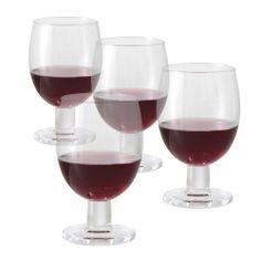 Jamie Oliver Rode Wijnglazen 0,35 L 4 st.
