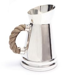 Rope Handled Pitcher