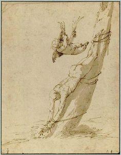 Jusepe de Ribera — Eros Punishing a Satyr (?) — Musée Condé, Chantilly