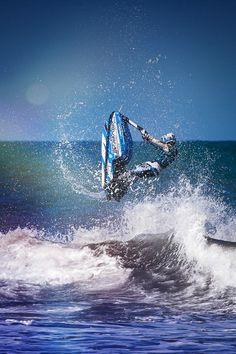 Freegun Athlete Thomas Auzou Jetski Freestyle